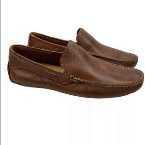 Giorgio Brutini Le Glove Driving Leather Loafers
